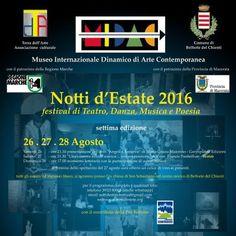 Festival Notti dEstate iniziative culturali pro terremotati