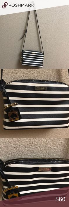Kate Spade New York Brightwater Black/Water Good condition! kate spade Bags Crossbody Bags