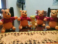 Winnie pooh crochet