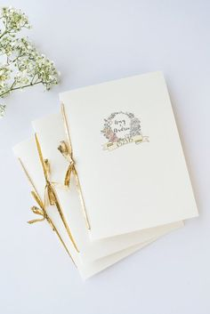 Custom illustrated wedding program order of service booklet by thingsidrew Wedding Ceremony Ideas, Order Of Wedding Ceremony, Wedding Party Games, Wedding Reception Backdrop, Wedding Programs, Minimalist Wedding Invitations, Elegant Wedding Invitations, Wedding Stationery, Wedding Booklet