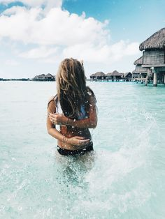 Bora Bora, Travel, Ocean, water bungalows, bucket list, photography, jessakae, french polynesian islands, pool, tropical, paradise, underwater photography, fish, beach, four seasons, floatie, hair, beach hair, beach waves, blonde, blonde hair