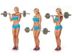 biceps barra z de pie