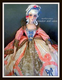 french boudoir doll lady