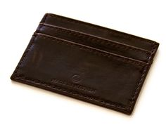 Made in Mayhem Carr Card Holder Chocolate – Stytched