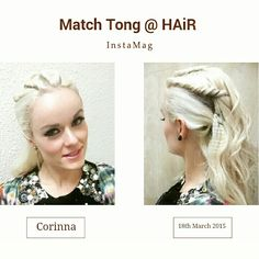 Thk u Match Tong @HAiR for this cool hairdo for my show at 香港汕頭商會第34屆就職典禮 on 18/3/15!