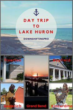 On a day trip to Lake Huron we made our way through a series of Canadian small towns. It was beautiful, scenic and a great trip to our final destination Take a road trip up highway 21 in SW Ontario for a bus tour of Bruce Power. Usa Travel Guide, Travel Usa, Travel Guides, Travel Tips, Travel Advice, Alberta Canada, Canada Vancouver, Columbia, Ontario Travel