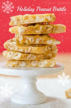 How to make Peanut Brittle by Fifteen Spatulas. It's the most forgiving cooked sugar candy!