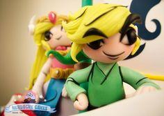 Gâteau d'anniversaire Legend de Zelda: Wind Waker