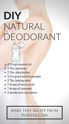Coconut oil homemade deodorant is the best all natural deodorant. You will love how well this all natural deodorant recipe works. It works great and is budget friendly. Plus, it's very quick and easy Diy Natural Deodorant, Homemade Deodorant, Beauty Care, Diy Beauty, Beauty Tips, Beauty Products, Homemade Beauty, Beauty Skin, Beauty Ideas
