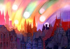 multiple sunset by belokrylnik.deviantart.com on @DeviantArt