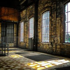 industrial heritage, old mine factory, Beringen, Belgium photo by Drakenvlieg