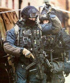 Unidad especial de policias de Suecia