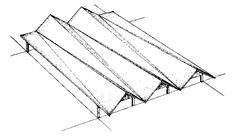 Folded Plate Structure | tapered folded plates folded plate structures may be built with ...