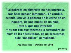 Papa Francisco, Interesting Quotes