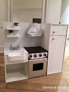 Awesome Play Kitchen Farmhouse Sink – The Incredible as well as Attractive pla. Awesome Play Kitchen Farmhouse Sink – The Incredible as well as Attractive play kitchen farmhouse sink intended for Real. Diy Kids Kitchen, Ikea Play Kitchen, Wooden Play Kitchen, Farmhouse Sink Kitchen, Toy Kitchen, Play Kitchens, Kitchen Sets For Kids, Open Kitchens, Kitchen Tile
