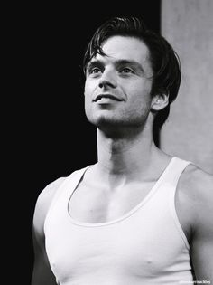 Sebastian Stan (Picnic) WOW  I'm not usually like this but wow