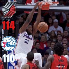 #SixersGameRecap #1 - Sixers lose in a very frustrating game in Portland. - The Sixers played a great game up until the 4th quarter. At one point they had an 18 point lead but blew it giving up a 19-0 run. Down the stretch the Sixers tried to claw their way back but the refs wouldnt allow it. Joel Embiid led the way with 29 points. - Sixers fall to 15-19 they remain in 10th place in the east trailing the Knicks by 1.5 games. - Next game is Saturday vs the Nuggets. - #NBA #Football #Sixers…