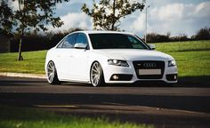 """Audi A4 with 19"""" Bola ZZR http://bolawheels.co.uk/"""