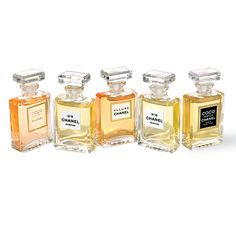Brides.com: Unique Bridesmaid Gift Ideas. A little dab from one of these 3.5-ounce parfum bottles will do for the day. Wardrobe set, $110, Chanel; Saks Fifth Avenue, 800-347-9177.