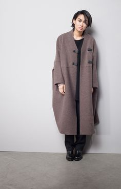 OSKA new collection Coat Hera, Pullover Isabel, Trousers Pompea long