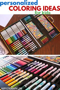 Try these personalized coloring ideas for kids to make coloring time a refreshing and new experience! Crayola My Way #ad