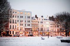 Winter in Brighton, England