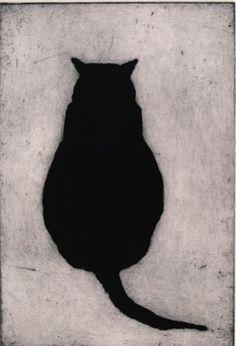 Solo grasso nero micio
