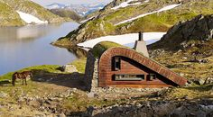 Camouflaged Hunting Cabins : hunting lodge