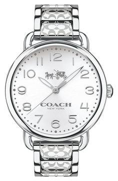 Coach 'Delancey' Bracelet Watch, 36mm