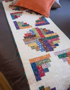 Curvy Log Cabin Quilts6