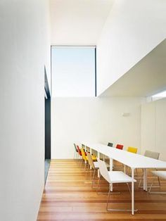 Casa das Caldeiras office with Team chairs + Nuur tables by Arper