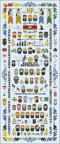 19. #Harry Potter #parodie - 34 motifs de #point de croix en #suspens pour…