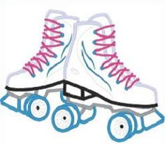Free and public domain Roller Skateclip art. Roller Skating Party, Skate Party, Rollers, Converse Chuck Taylor, Party Time, Birthday Parties, High Top Sneakers, Clip Art, Kids Rugs
