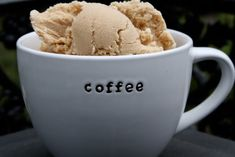 kaffee eis - how I loved to drink coffee in Vienna...would love to serve this!