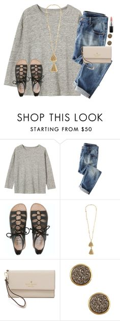 """""""when things finally start to work out with your crush!❤️"""" by emmig02 ❤ liked on Polyvore featuring Toast, Wrap, Billabong, Isabel Marant, Kate Spade, Rivka Friedman and MAC Cosmetics"""