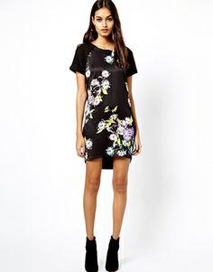 Warehouse Floral Print Dress ASOS
