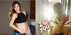 El tierno álbum del embarazo de Anahí