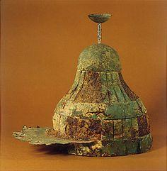 Kofun period. Head Armor. 5th. Nara Japan.