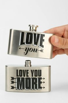 Double-Tiered Flask