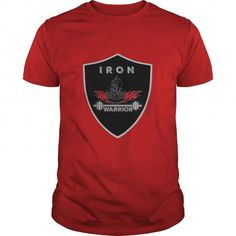 Cool and Awesome Iron Warrior Bodybuilding T Shirt Shirt Hoodie