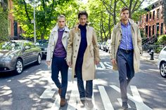 I might need to get a trench this fall. (New Mens Trench Coats - Modern Trench Coats for Men - Esquire)