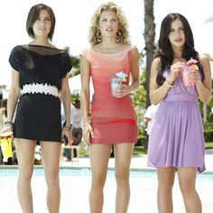 90210-love these dresses!