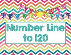 The common core state standards have changed it so that we have to go to 120 in our math standards. I have created an easy to cut out, laminate an. Teaching Letters, Teaching Math, Teaching Ideas, Teaching Tools, Math Classroom, Kindergarten Math, Classroom Freebies, Classroom Decor, Math Resources