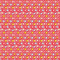 Barnacle Net - Coral Colorway fabric by heatherdutton on Spoonflower - custom fabric