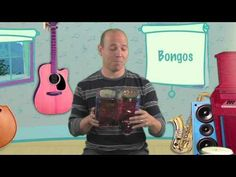 Mr. Greg's Musical Madness - Recycled Bongo Fun! - YouTube