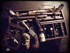 Vampire Hunter Killing Kit into Wooden Box di Libriproibiti