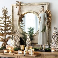 Beautiful Mercury Glass Decorations For Your Coming Holidays….No matter what your occasion, the Mystique of Mercury Glass is sure to leave a shining impression.