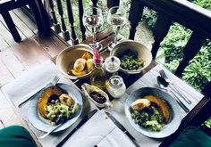 2018 Malaysia 🇲🇾 - food in the jungle Table Settings, Food, Essen, Place Settings, Meals, Yemek, Eten, Tablescapes