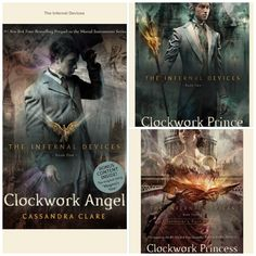 Infernal Devices by Cassandra Clare. Such a great series!