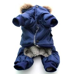 Yunt Cute USA Air Force Design Pet Dog Puppy Winter Warm Coat Jacket Jumpsuits Cloth Hoody Costume ApparelBlueXLarge -- You could get added details at the picture link. (This is an affiliate link). Dog Winter Coat, Leopard Dog, Pet Dogs, Pets, Dog Items, Cat Costumes, Pet Clothes, Dog Clothing, Outfits